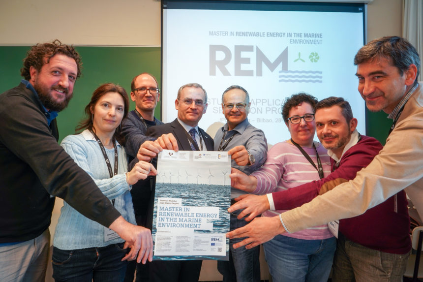 320 applicants from 55 countries for the first edition of the Erasmus Mundus Master's degree in Renewable Energy in the Marine environment (REM)